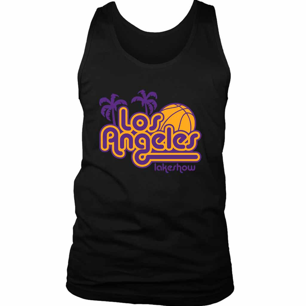 Los Angeles Lakeshow Lakers Men's Tank Top - Nuu Shirtz