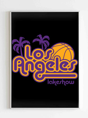 Los Angeles Lakeshow Lakers Matte Posters - Nuu Shirtz