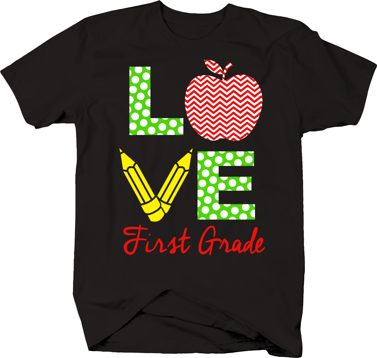 Love First Grade For Elementary School Students Bts Men's T-Shirt - Nuu Shirtz