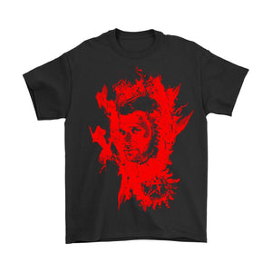Lucifer In Flames Men's T-Shirt - Nuu Shirtz
