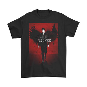 Lucifer Poster Season Two Men's T-Shirt - Nuu Shirtz