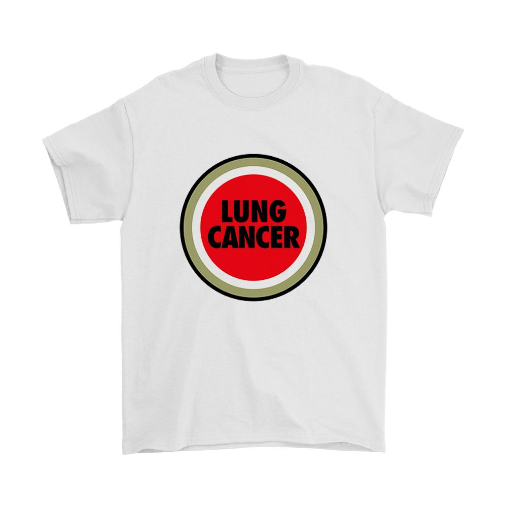 Lung Cancer Funny Lucky Strike Parody Men's T-Shirt