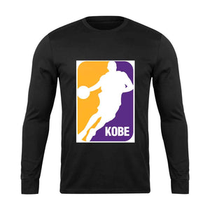 Mamba League Logo Long Sleeve - Nuu Shirtz