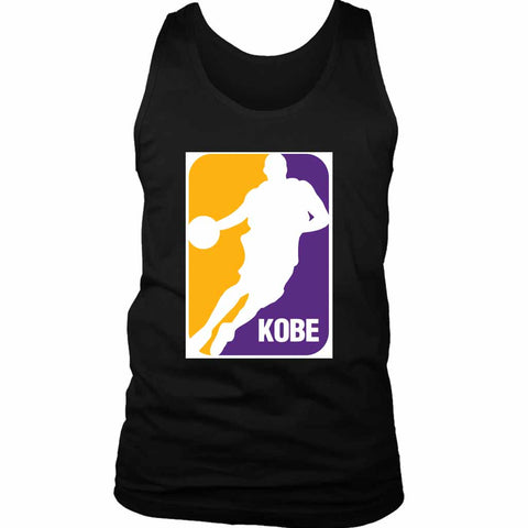Mamba League Logo Men's Tank Top - Nuu Shirtz