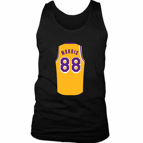 Markieff Morris Jersey Lakers Men's Tank Top - Nuu Shirtz