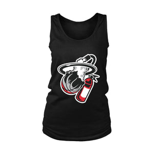 Miami Heat Logo Parody Women's Tank Top