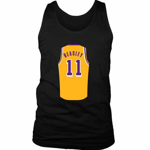 Michael Beasley Jersey Lakers Men's Tank Top - Nuu Shirtz
