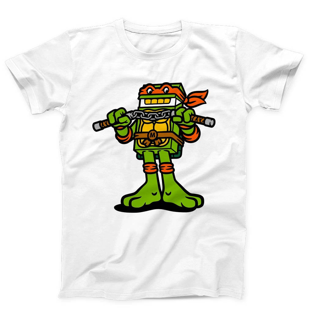 Michelangelo Ninja Turtles Men's T-Shirt - Nuu Shirtz