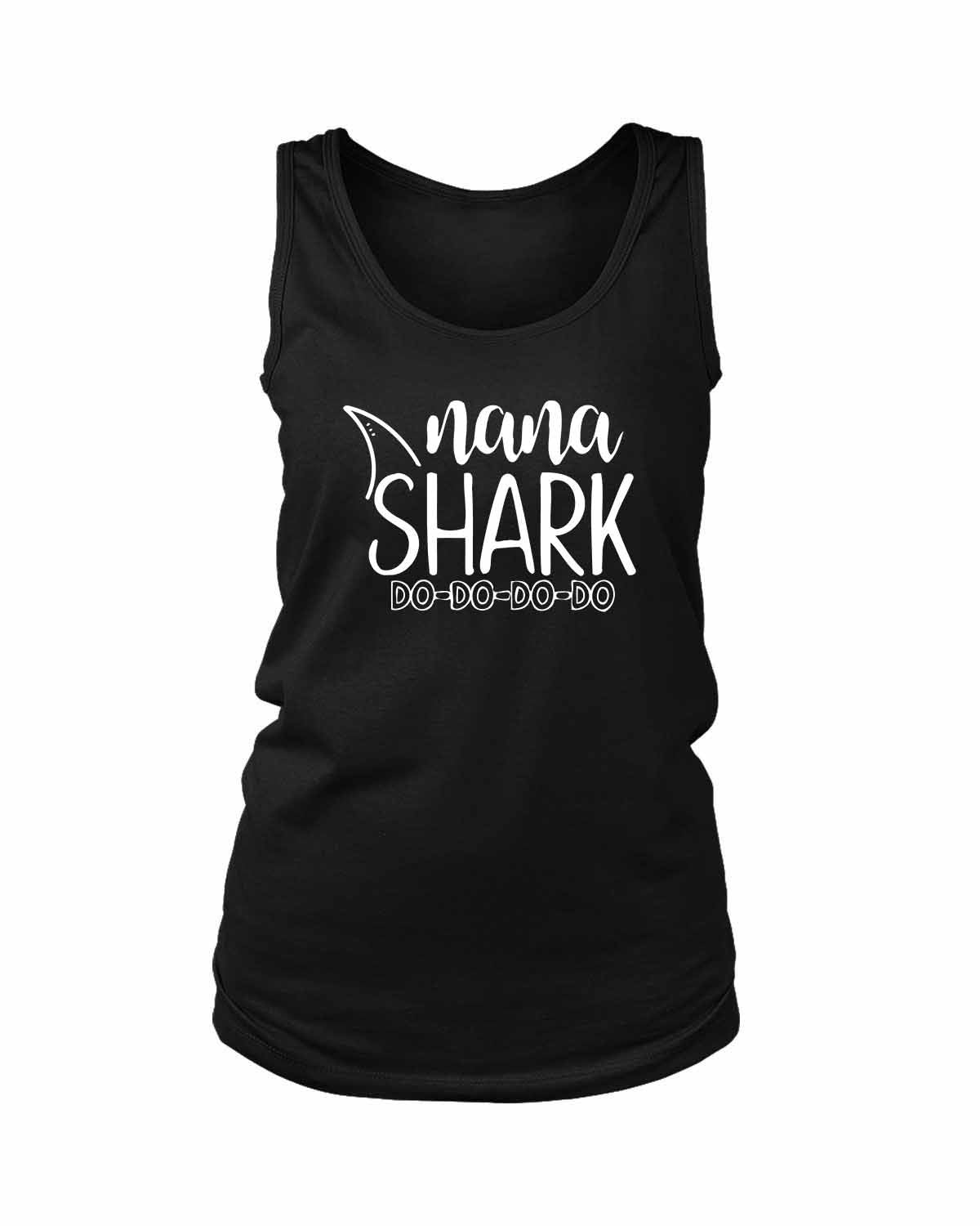 Nana Shark Doo Doo Doo Women's Tank Top
