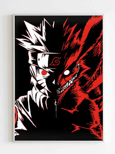 Naruto Two Face Poster - Nuu Shirtz