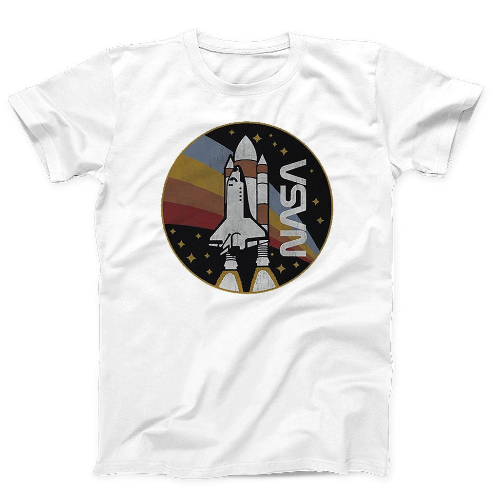 Nasa Space Shuttle Launch Men's T-Shirt - Nuu Shirtz