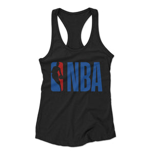 Nba Basketball Lakers Woman's Racerback Tank Top - Nuu Shirtz