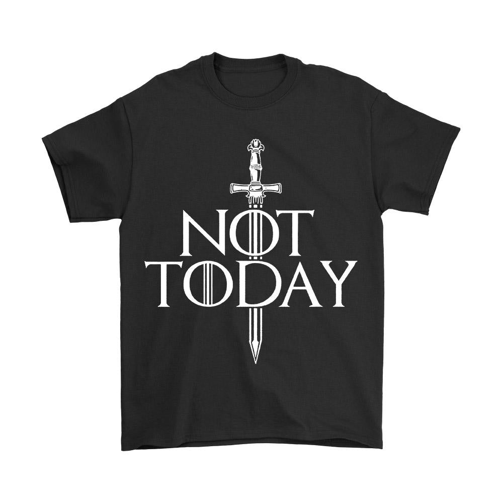 Not Today Arya Stark Men's T-Shirt - Nuu Shirtz