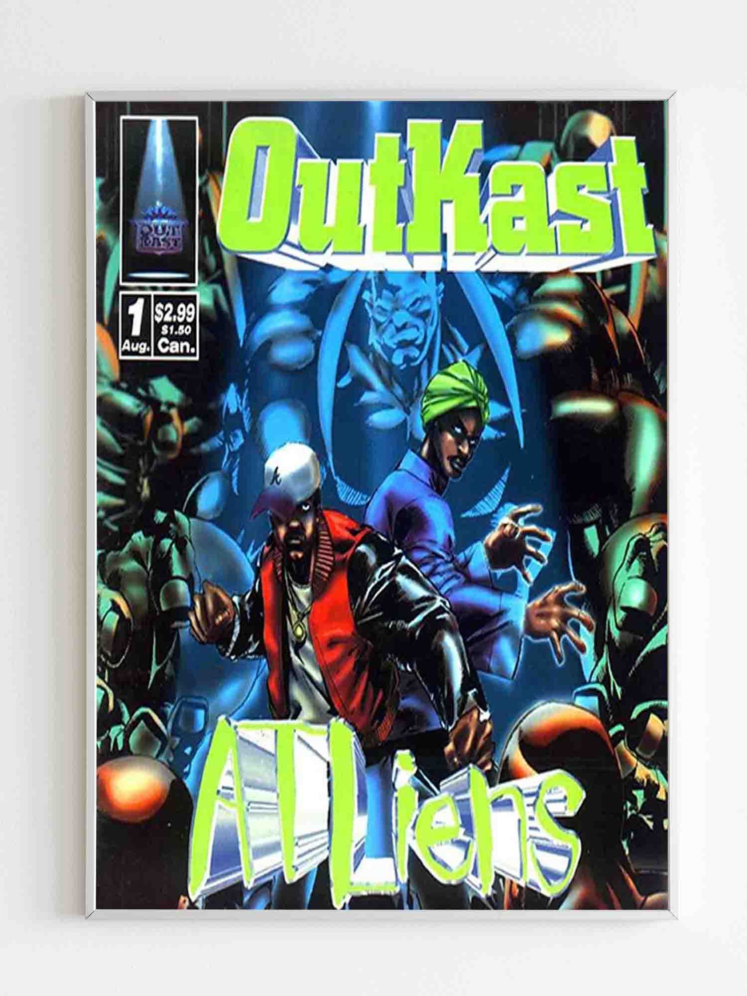 Outkast Atliens Sublimation Cover Poster
