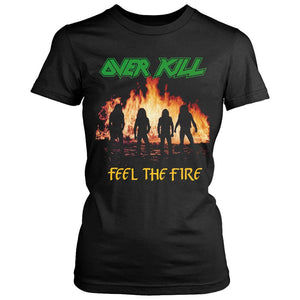 Overkill Feel The Fire Women's T-Shirt - Nuu Shirtz