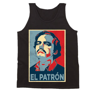 Pablo Escobar Drug Lord The Hope Men's Tank Top