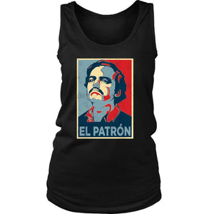 Pablo Escobar Drug Lord The Hope Women's Tank Top - Nuu Shirtz
