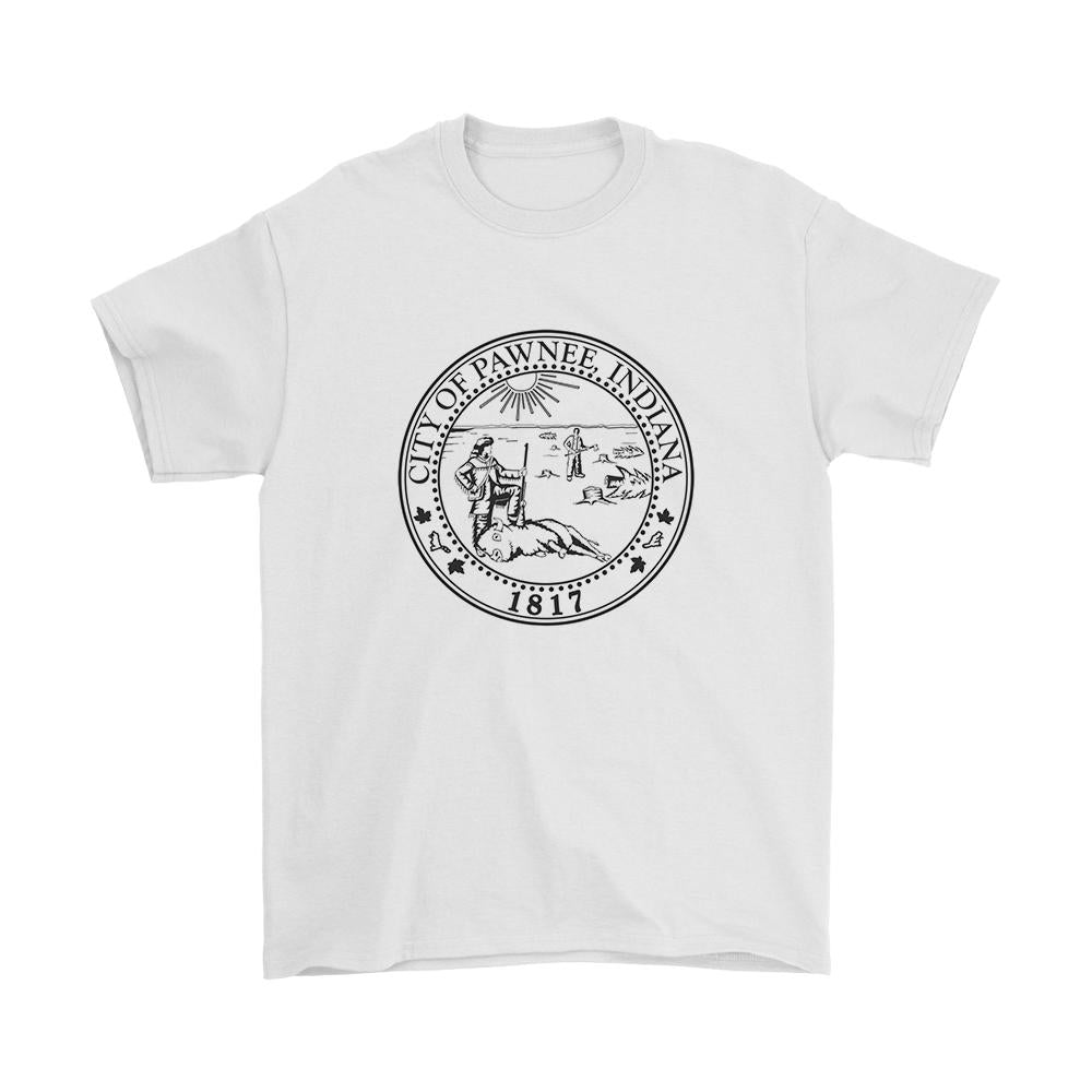 Parks And Rec Pawnee Seal Men's T-Shirt