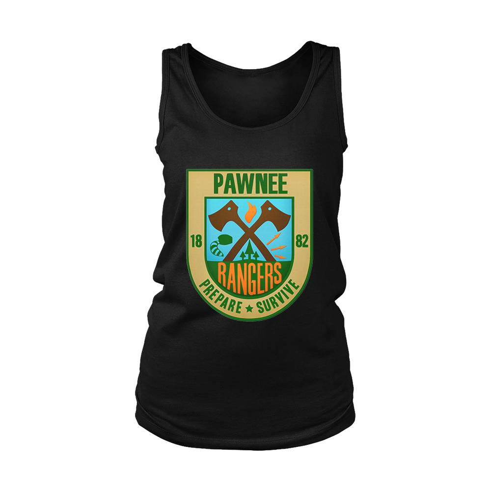 Pawnee Rangers Women's Tank Top - Nuu Shirtz