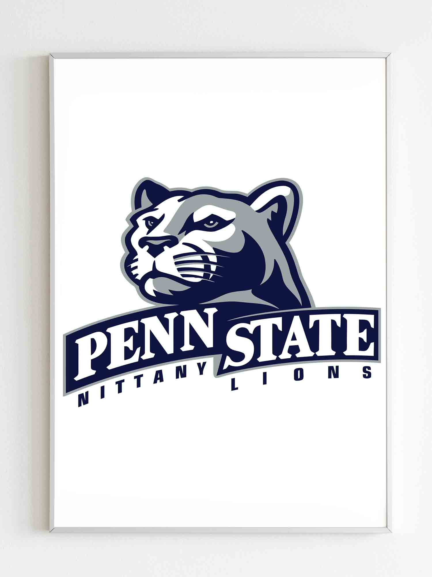 Penny State Nittany Lions Logo Poster