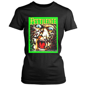 Pestilence Consuming Impulse Death Metal Thrash Women's T-Shirt