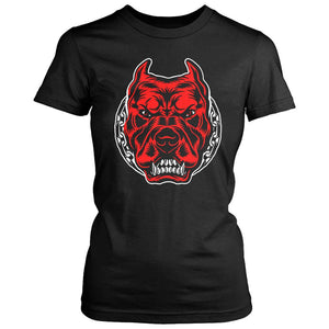 Pitbull Gym Training Women's T-Shirt