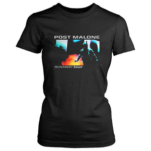 Post Malone Runaway Tour Concert Women'S T-Shirt