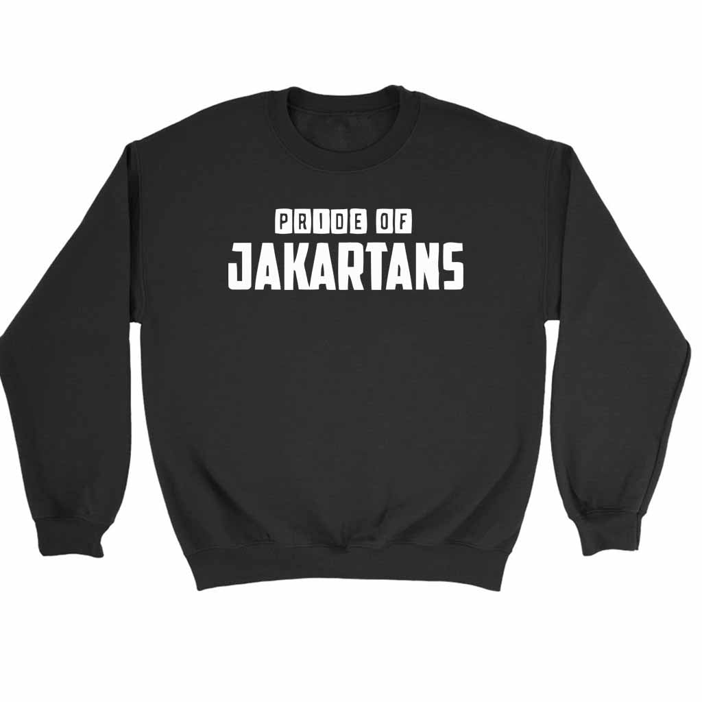 Pride Of Jakartans Sweatshirt Sweater - Nuu Shirtz