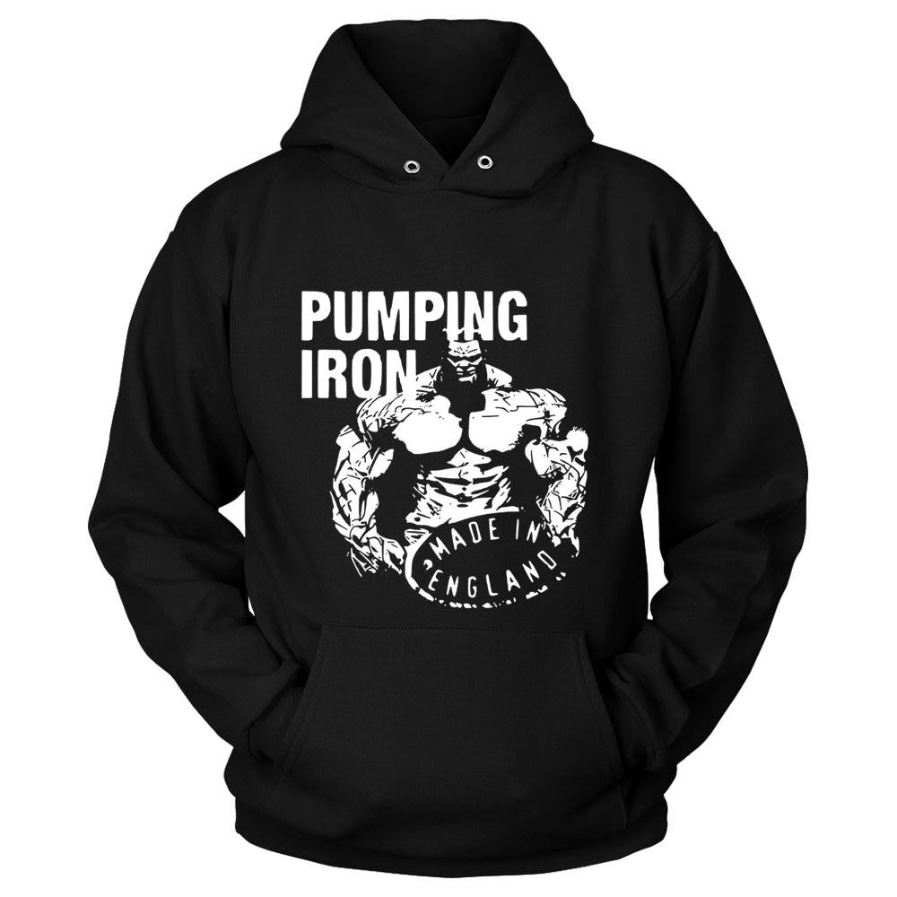 Pumping Iron Made In England Hoodie