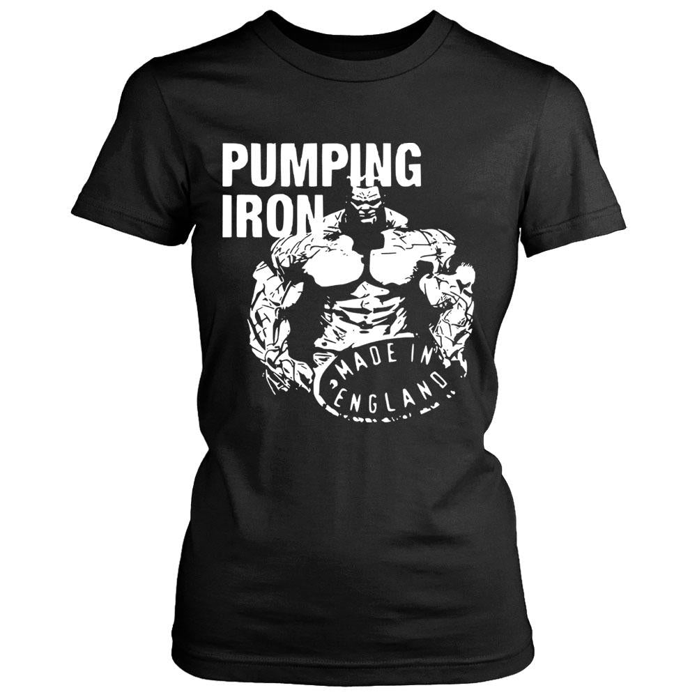 Pumping Iron Made In England Women's T-Shirt