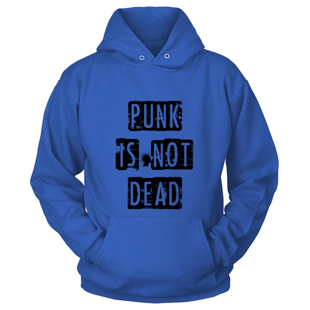 Punk Is Not Dead Fun Music Hipster Unisex Hoodie