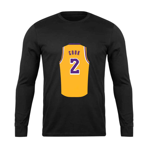Quinn Cook Jersey Lakers Long Sleeve - Nuu Shirtz