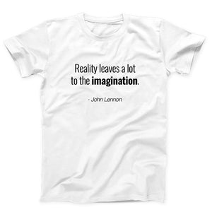 Quotes Reality Leaves A Lot To The Imagination John Lennon Men's T-Shirt - Nuu Shirtz