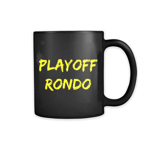 Rajon Rondo Playoff Rondo Los Angeles Lakers Lakers 11oz Mug - Nuu Shirtz