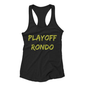 Rajon Rondo Playoff Rondo Los Angeles Lakers Lakers Woman's Racerback Tank Top - Nuu Shirtz