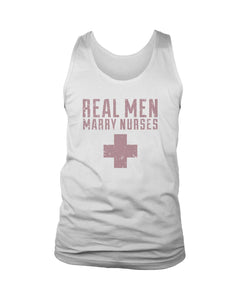 Real Men Marry Nurses Men's Tank Top - Nuu Shirtz
