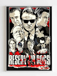 Reservoir Dogs Tarantino Movie Retro Cool Vintage Poster