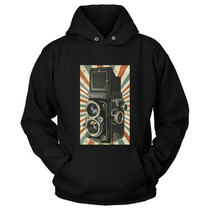 Retro Camera Photography Cool Hipster Unisex Hoodie - Nuu Shirtz