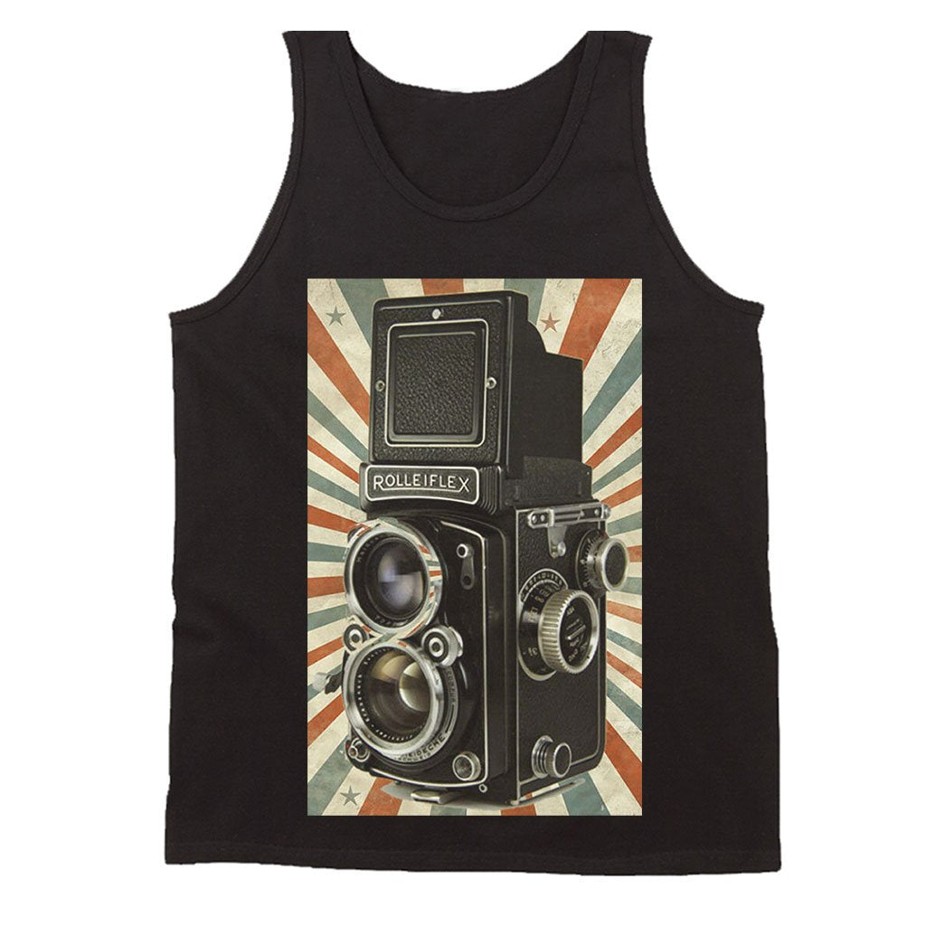 Retro Camera Photography Cool Hipster Men's Tank Top