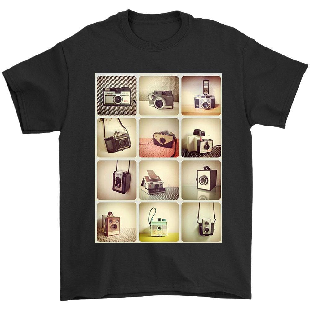 Retro Cameras Photography Hipster Men's T-Shirt - Nuu Shirtz