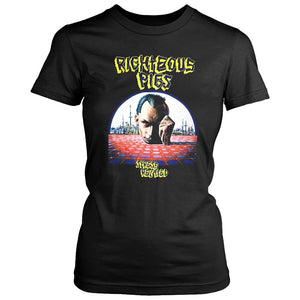 Righteous Pigs Stress Related Death Grindcore Napalm Death Women's T-Shirt - Nuu Shirtz