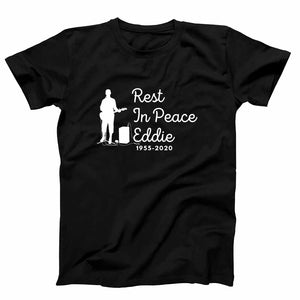 Rip Eddie Eddie Van Halen Guitar Player Rest In Peace Design 6 1955 2020 Men's T-Shirt - Nuu Shirtz
