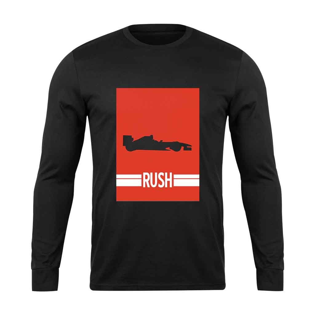 Rush Formula 1 Car Long Sleeve T-Shirt - Nuu Shirtz