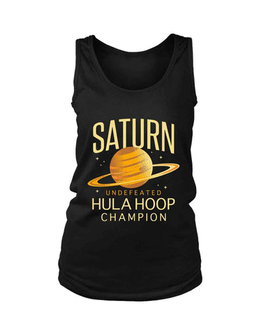 Saturn Undefeted Hulahoop Champion Women'S Tank Top