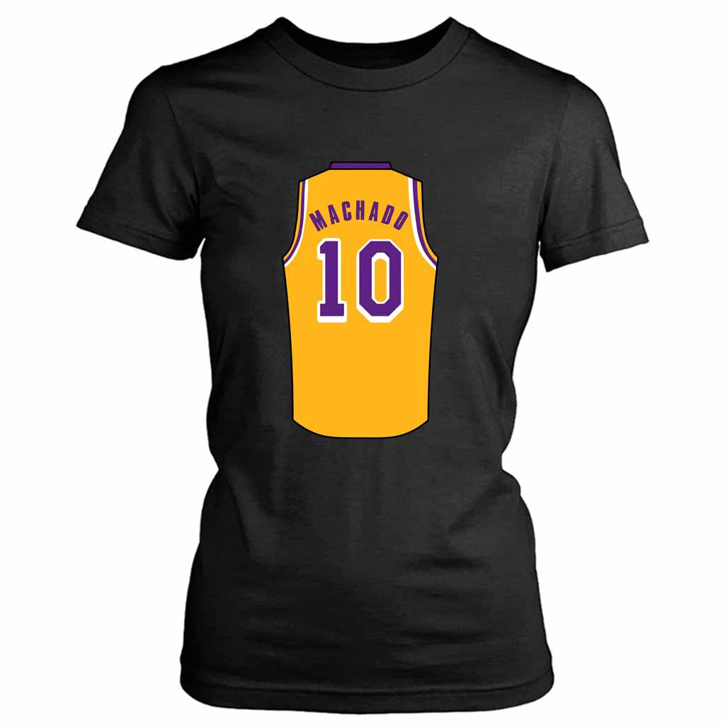 Scott Machado Jersey Lakers Women's Tee T-Shirt - Nuu Shirtz
