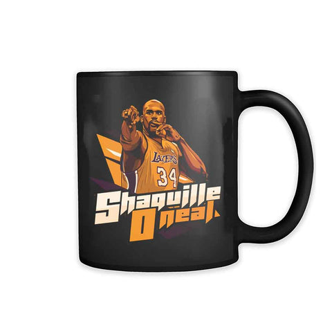 Shaq Lakers 11oz Mug - Nuu Shirtz