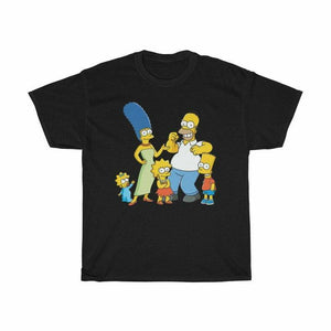 Simpsons Family Men's T-Shirt - Nuu Shirtz