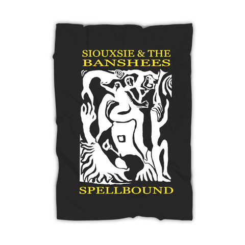 Siouxsie And The Banshees Spellbound Vintage Blanket