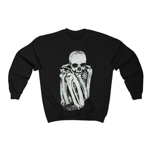 Skeleton Unisex Heavy Blend Crewneck Sweatshirt