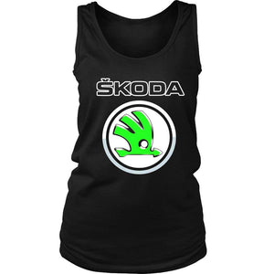 Skoda Logo Women's Tank Top - Nuu Shirtz